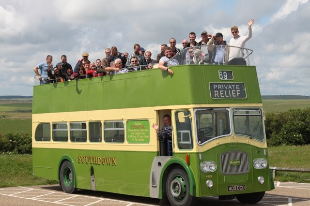 Open Top Bus Tour