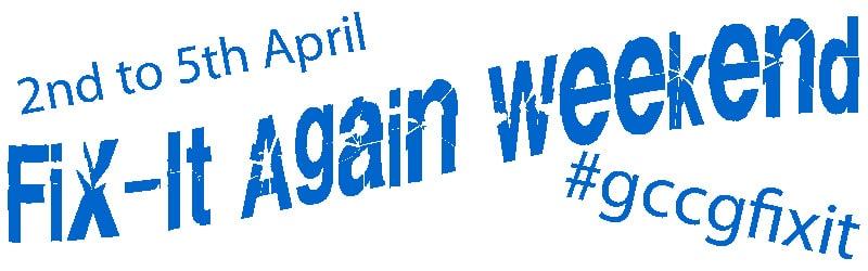 Fix It Again Weekend Logo