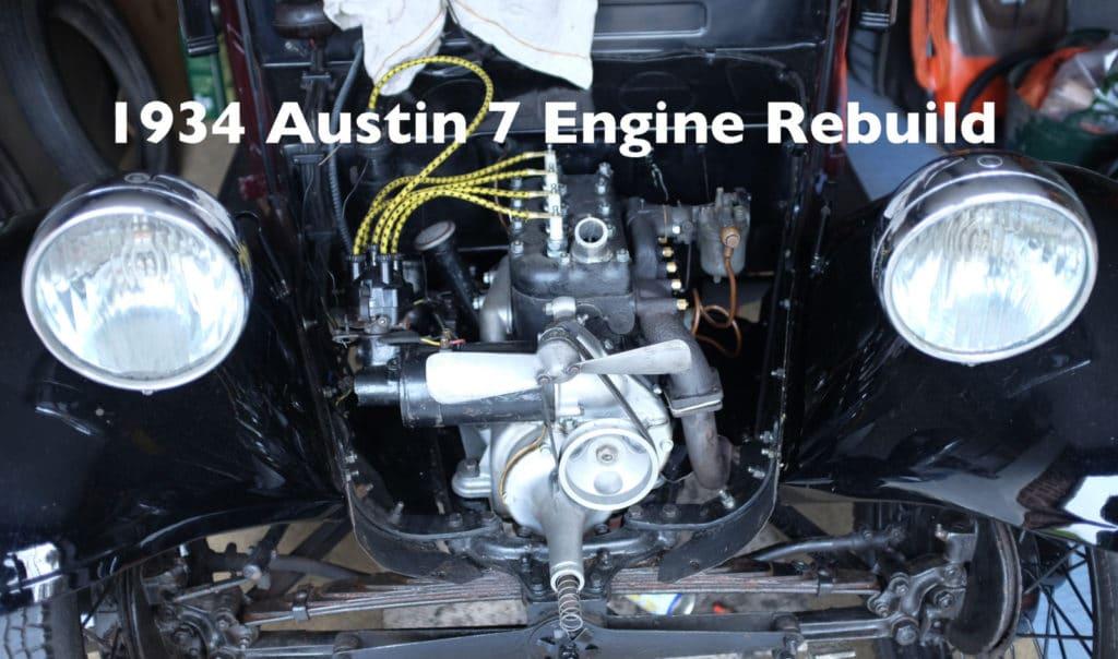 Austin 7 engine rebuild
