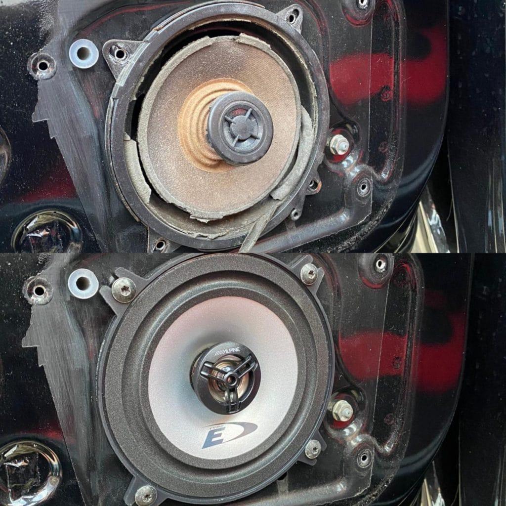 Peugeot 106 Rallye Speaker replacement