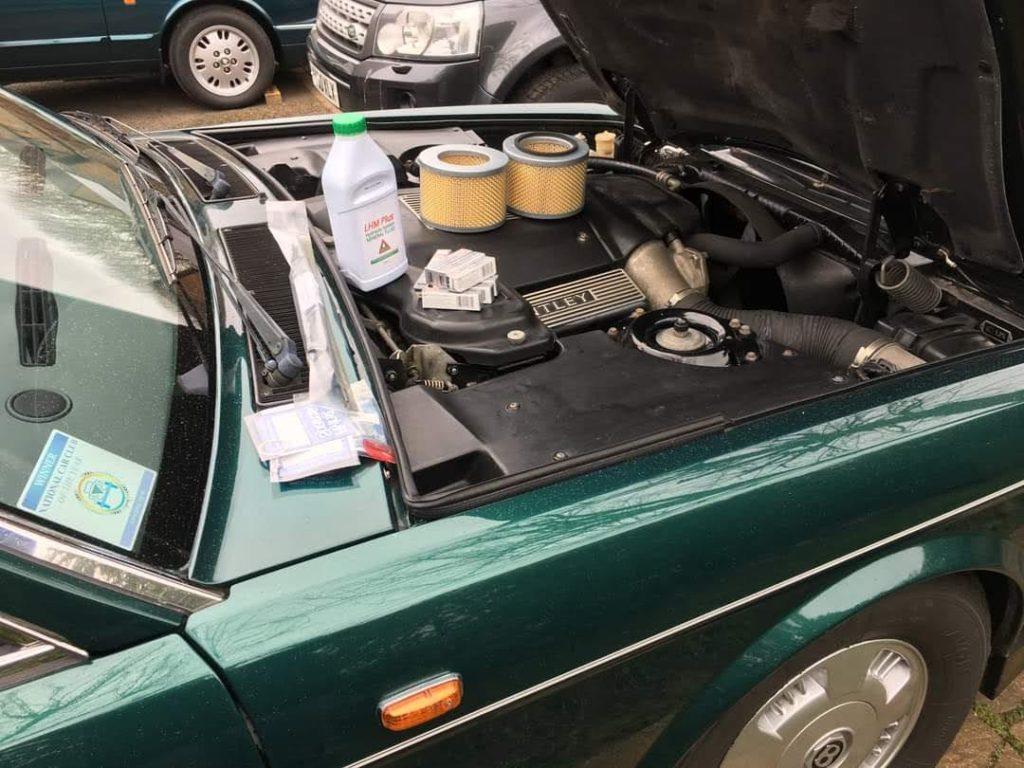 Bentley Servicing
