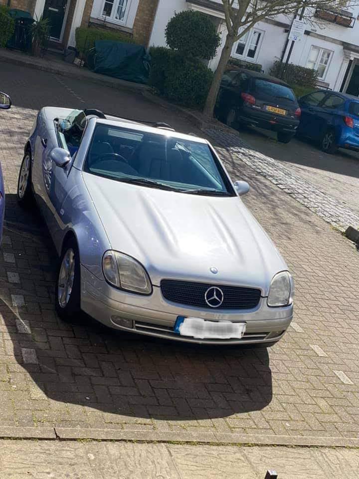 Mercedes Headlamp refurbishment