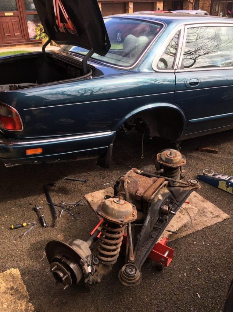 Jaguar rear suspension refresh