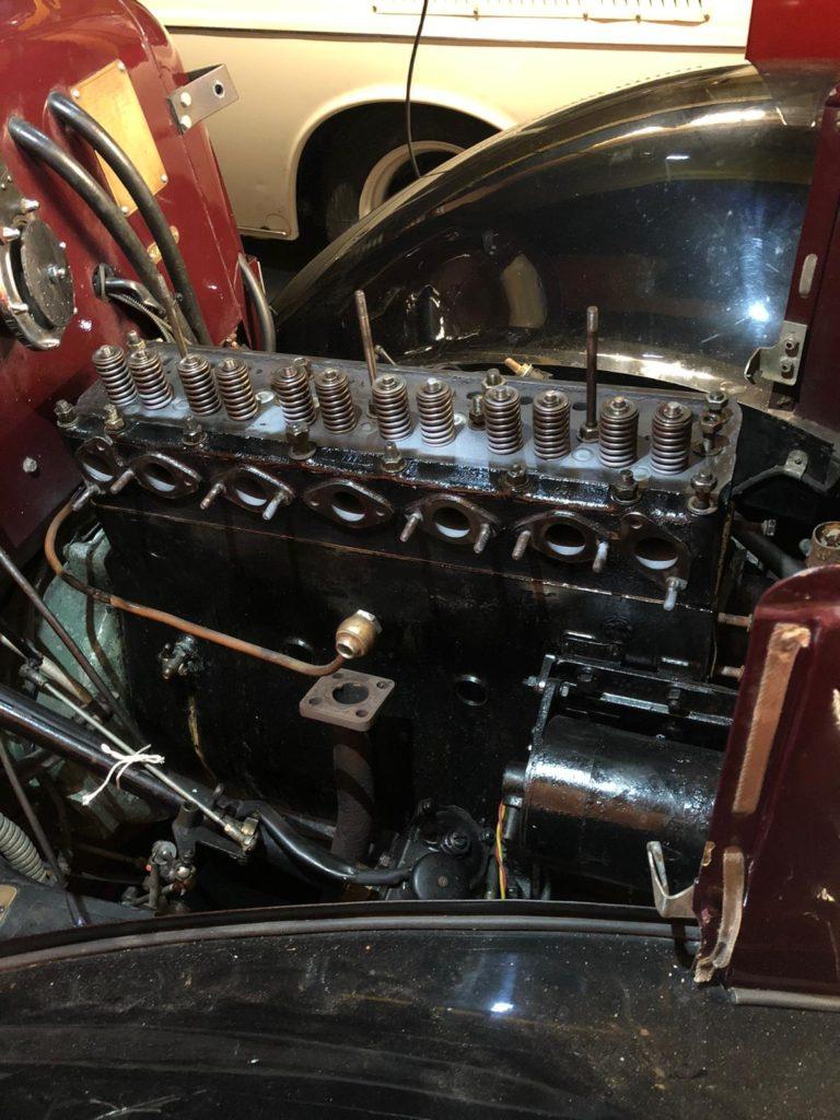 Lanchester LA14/2 engine rebuild