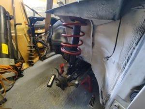Fiat Tipo 16V Front suspension