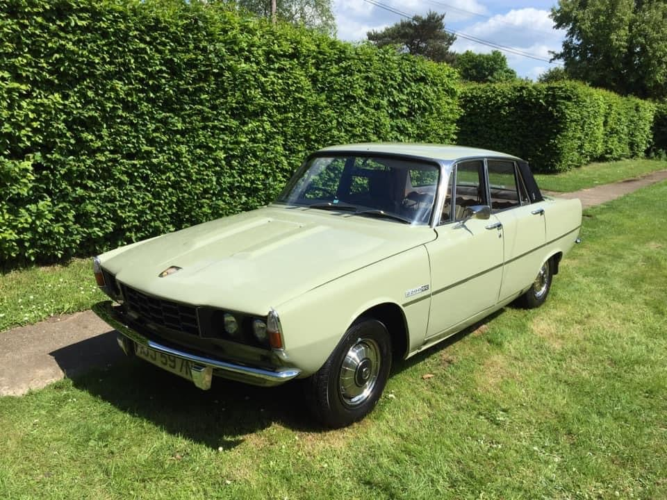Peter's Rover P6