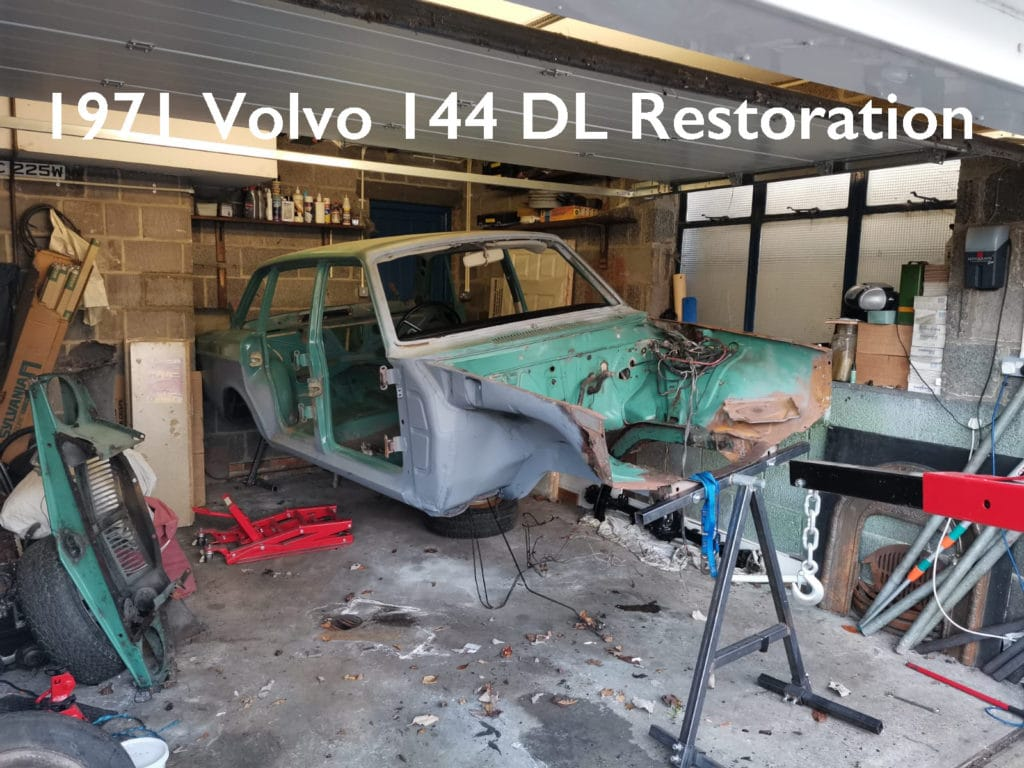 Volvo 144 Restoration