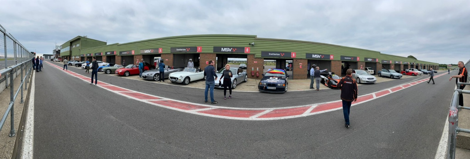 GCCG Track Day car lineup