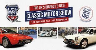 NEC Classic Motorshow 2021